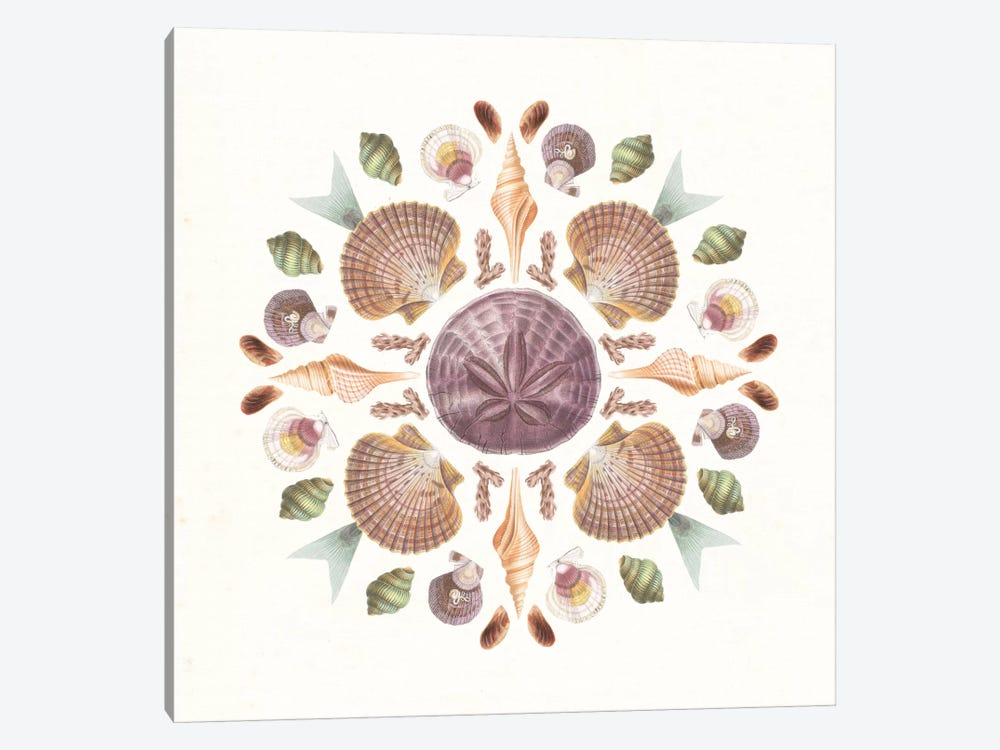 Ocean Mandala II by Wild Apple Portfolio 1-piece Art Print