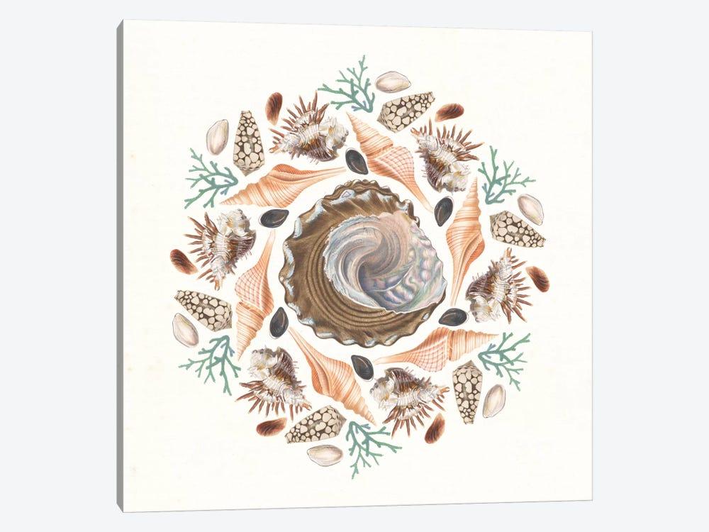 Ocean Mandala IV by Wild Apple Portfolio 1-piece Canvas Art Print