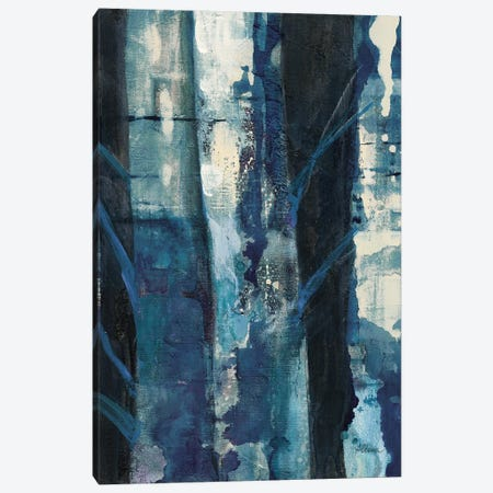Deep Woods I Indigo Canvas Print #WAC8943} by Albena Hristova Canvas Art