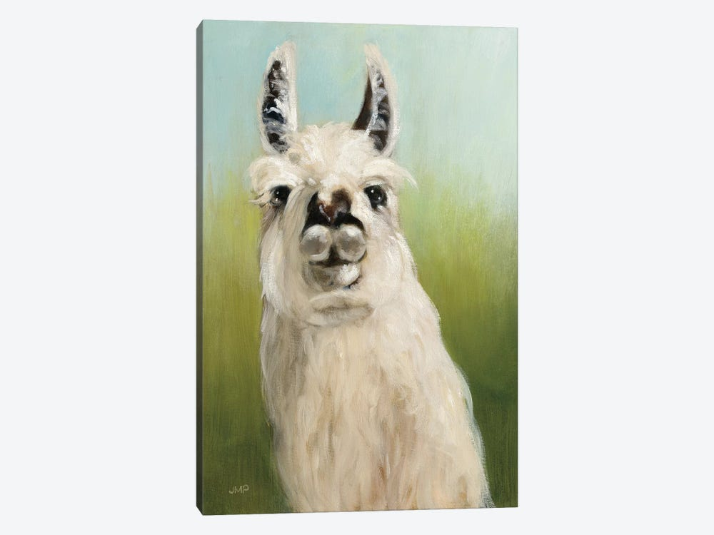 Who's Your Llama I by Julia Purinton 1-piece Canvas Art Print