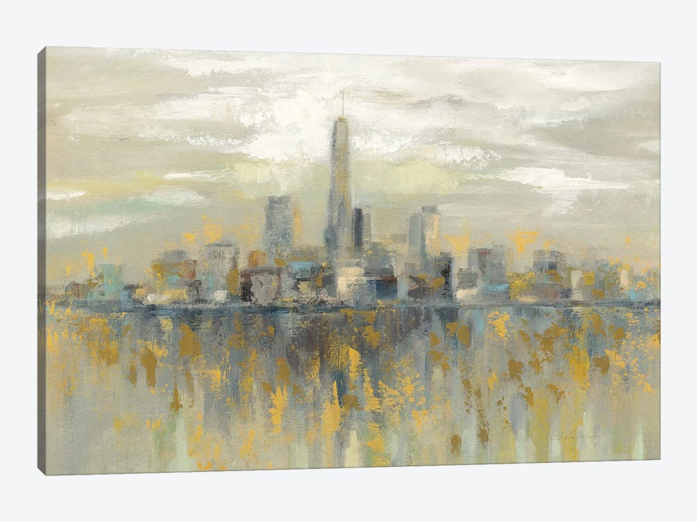 Manhattan Fog by Silvia Vassileva 1-piece Art Print