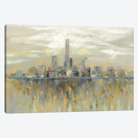 Manhattan Fog 3-Piece Canvas #WAC8964} by Silvia Vassileva Canvas Print