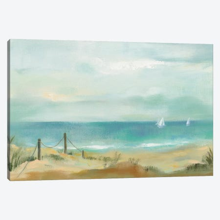 Serenity On The Beach Canvas Print #WAC8965} by Silvia Vassileva Canvas Art Print