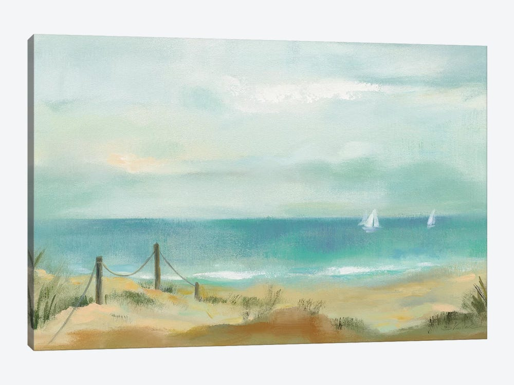 Serenity On The Beach 1-piece Canvas Wall Art