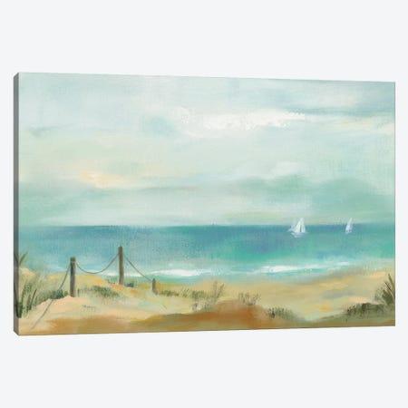 Serenity On The Beach Canvas Print #WAC8965} by Silvia Vassileva Canvas Art Print