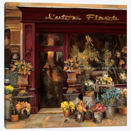 Parisian Shoppe I   Canvas Print #WAC896} by Marilyn Hageman Canvas Wall Art