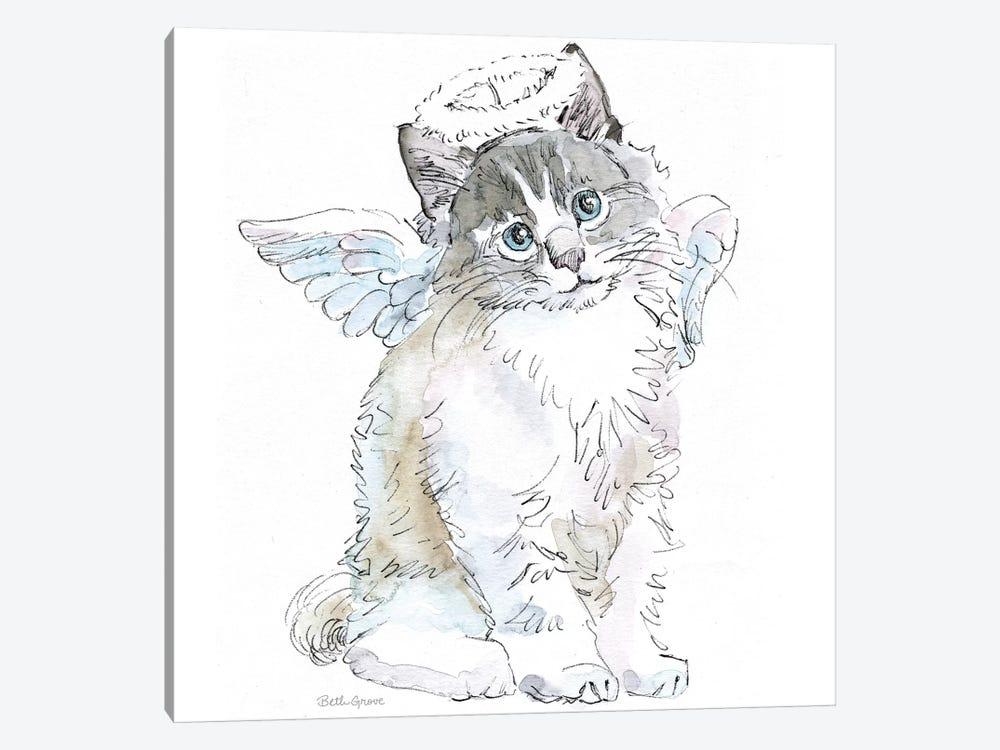 Christmas Kitties I by Beth Grove 1-piece Art Print