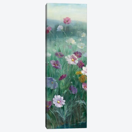 Cosmos At Dawn Panel I Canvas Print #WAC8982} by Danhui Nai Canvas Wall Art