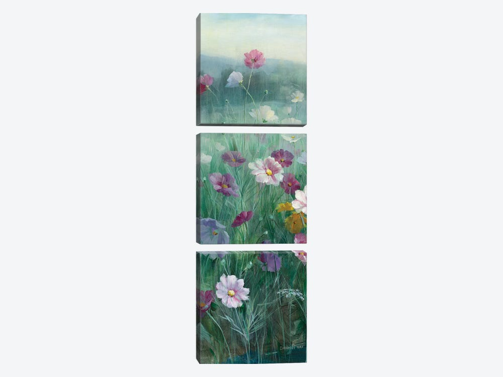 Cosmos At Dawn Panel I 3-piece Canvas Art Print