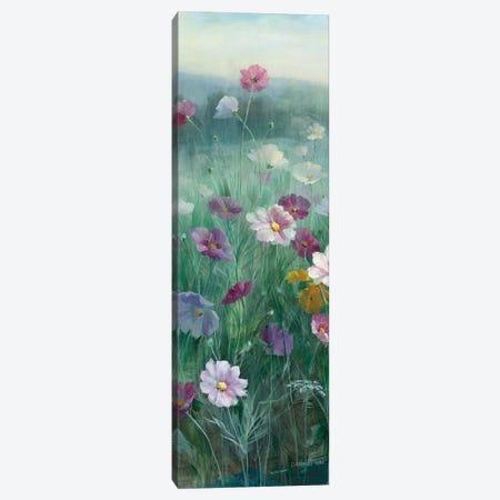 Cosmos At Dawn Panel I Canvas Print #WAC8982} by Danhui Nai Canvas Wall Art