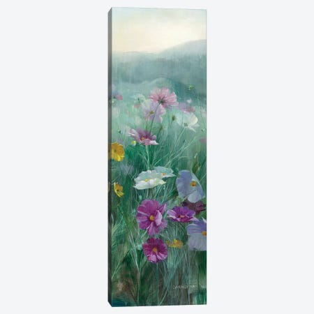 Cosmos At Dawn Panel II Canvas Print #WAC8983} by Danhui Nai Canvas Art