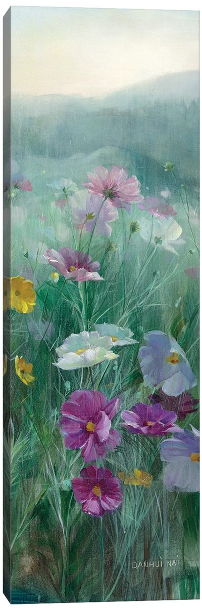 Cosmos At Dawn Panel II Canvas Art Print