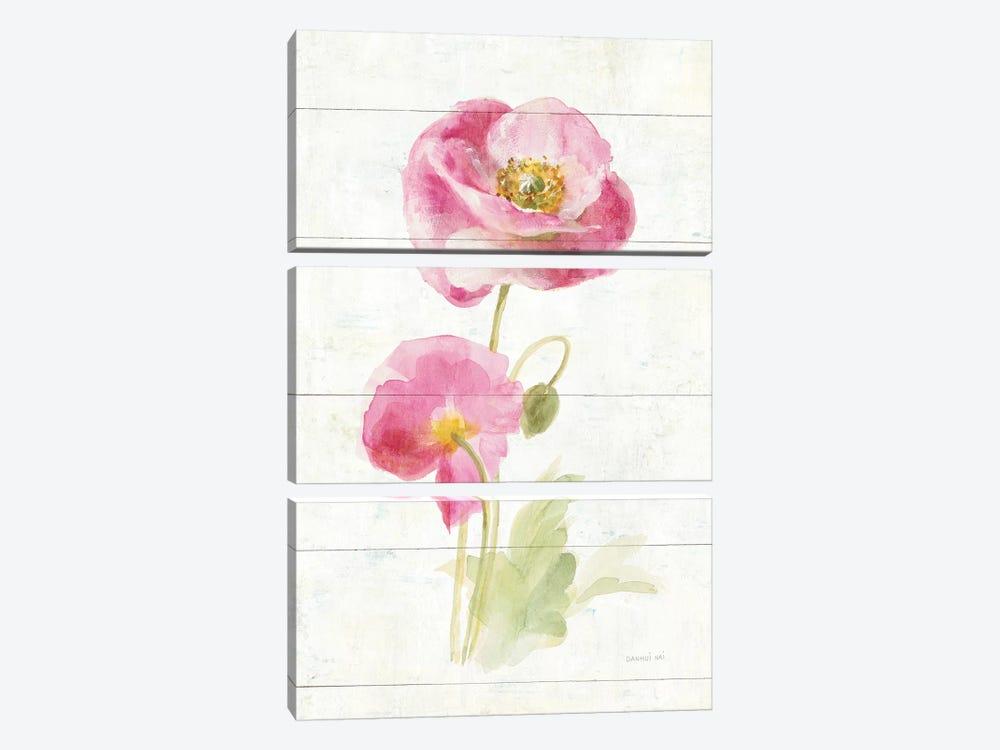 June Blooms IV by Danhui Nai 3-piece Art Print