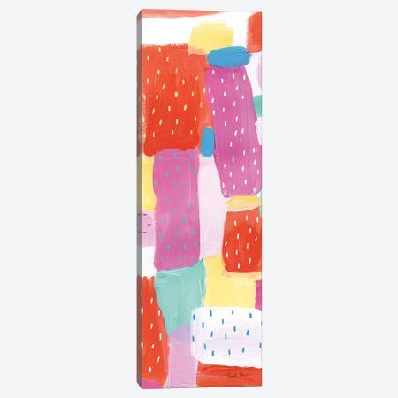 Happy Spots Panel I Canvas Print #WAC8994} by Farida Zaman Canvas Artwork