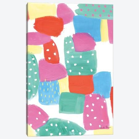 Happy Spots Canvas Print #WAC8995} by Farida Zaman Canvas Artwork