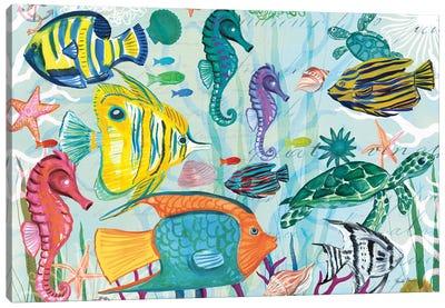 Tropical Underwater V Canvas Art Print