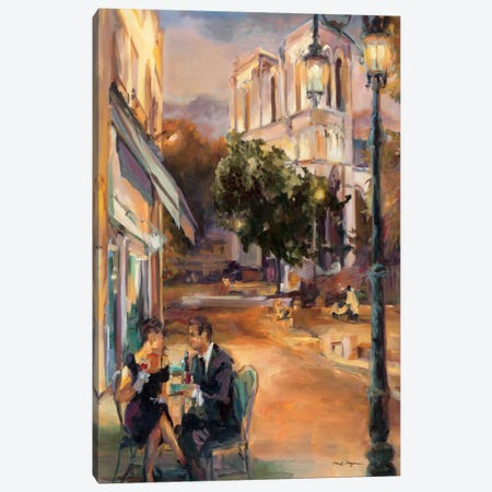 Twilight Time in Paris  Canvas Print #WAC899} by Marilyn Hageman Art Print