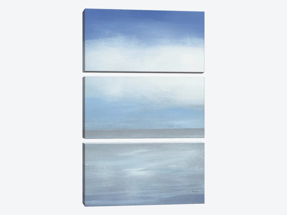 Seascape II by Jo Maye 3-piece Art Print