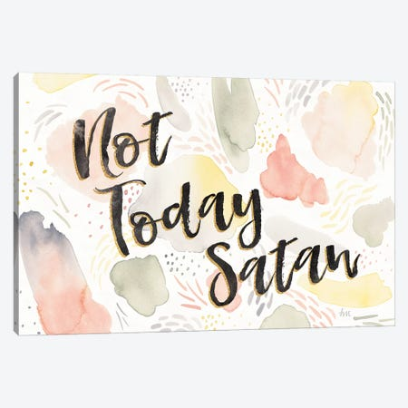 Meadow Breeze VI Not Today Satan Canvas Print #WAC9011} by Laura Marshall Art Print
