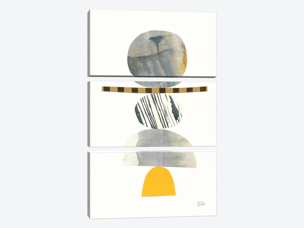 Balance II by Melissa Averinos 3-piece Canvas Art Print