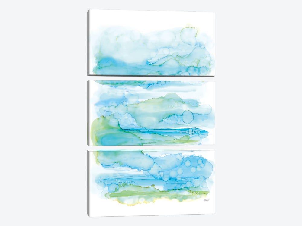 Drifting By II 3-piece Canvas Art