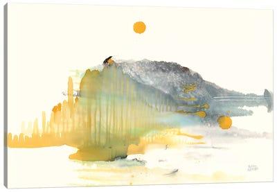 Golden Isle Canvas Art Print
