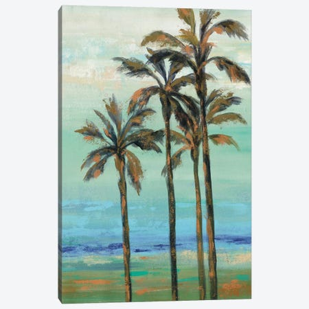 Copper Palms I Canvas Print #WAC9032} by Silvia Vassileva Canvas Art Print