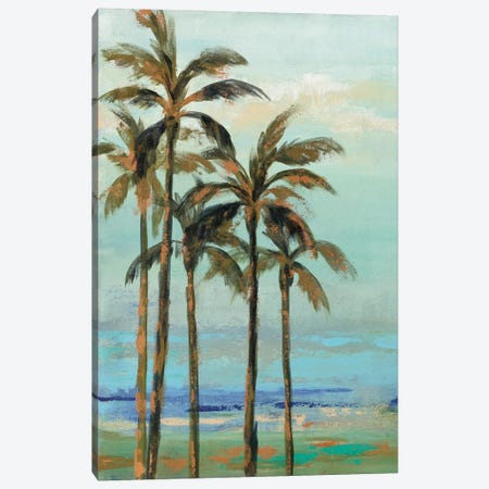 Copper Palms II Canvas Print #WAC9033} by Silvia Vassileva Canvas Print