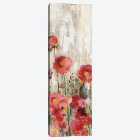 Sprinkled Flowers Panel I Canvas Print #WAC9035} by Silvia Vassileva Canvas Wall Art