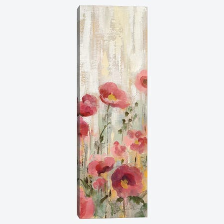 Sprinkled Flowers Panel II Canvas Print #WAC9036} by Silvia Vassileva Canvas Art