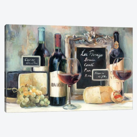 Les Fromages  Canvas Print #WAC903} by Marilyn Hageman Art Print