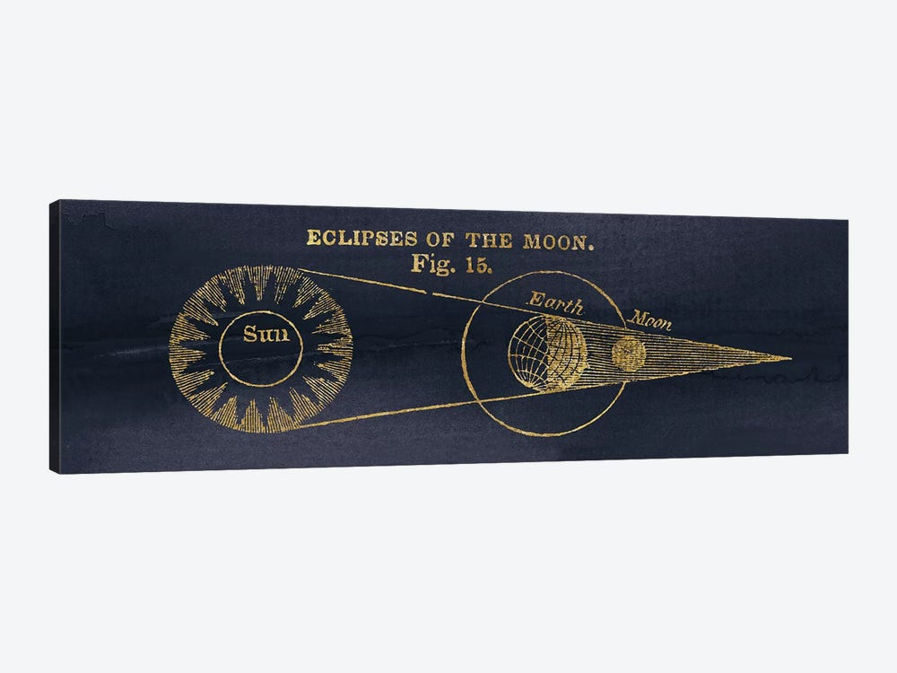 Geography Of The Heavens IV Blue Gold by Wild Apple Portfolio 1-piece Art Print