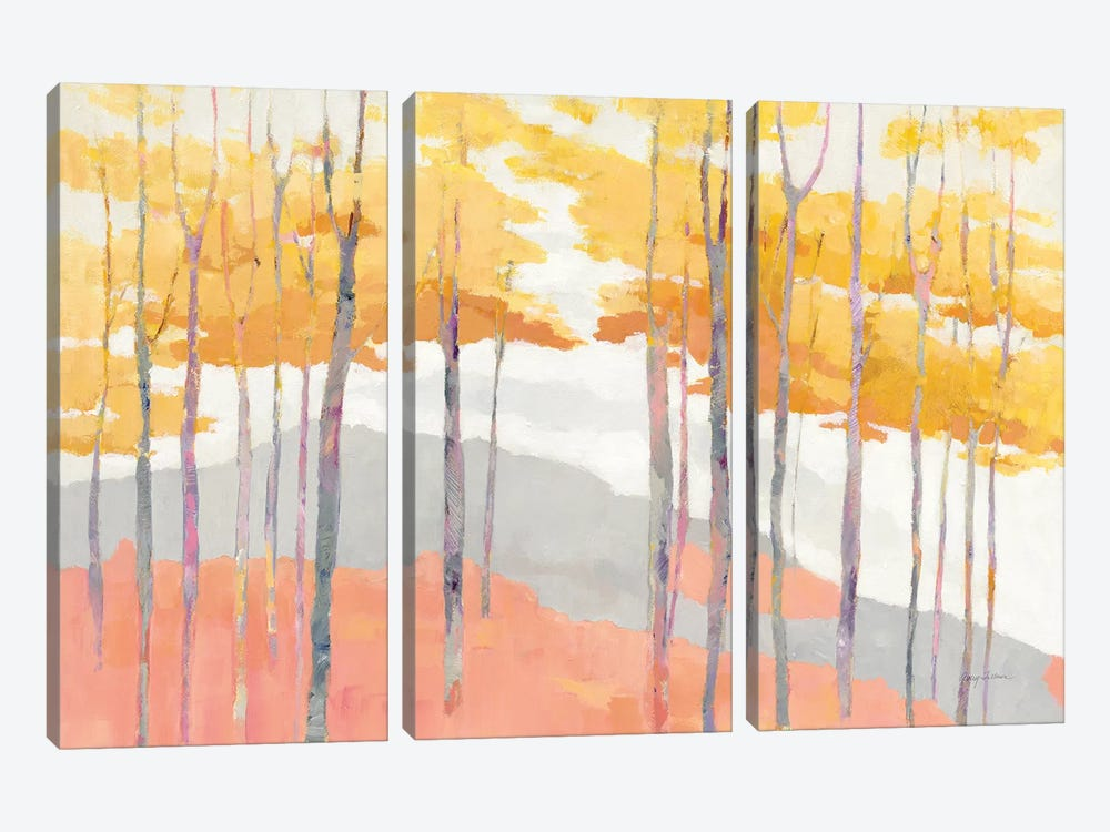 Late Wood by Avery Tillmon 3-piece Canvas Art