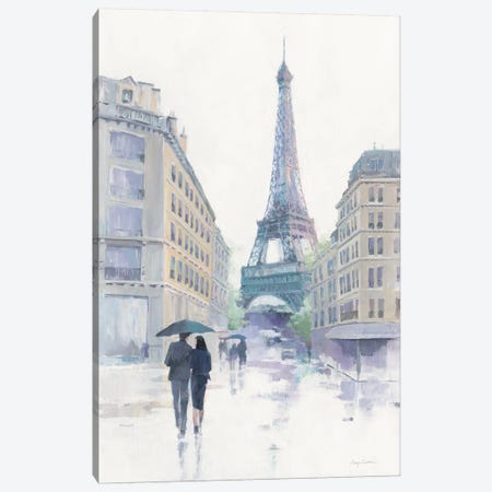 Walking In The Rain Canvas Print #WAC9053} by Avery Tillmon Canvas Print