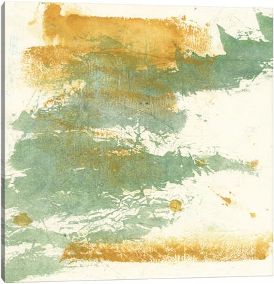 Textured Gold I Canvas Art Print