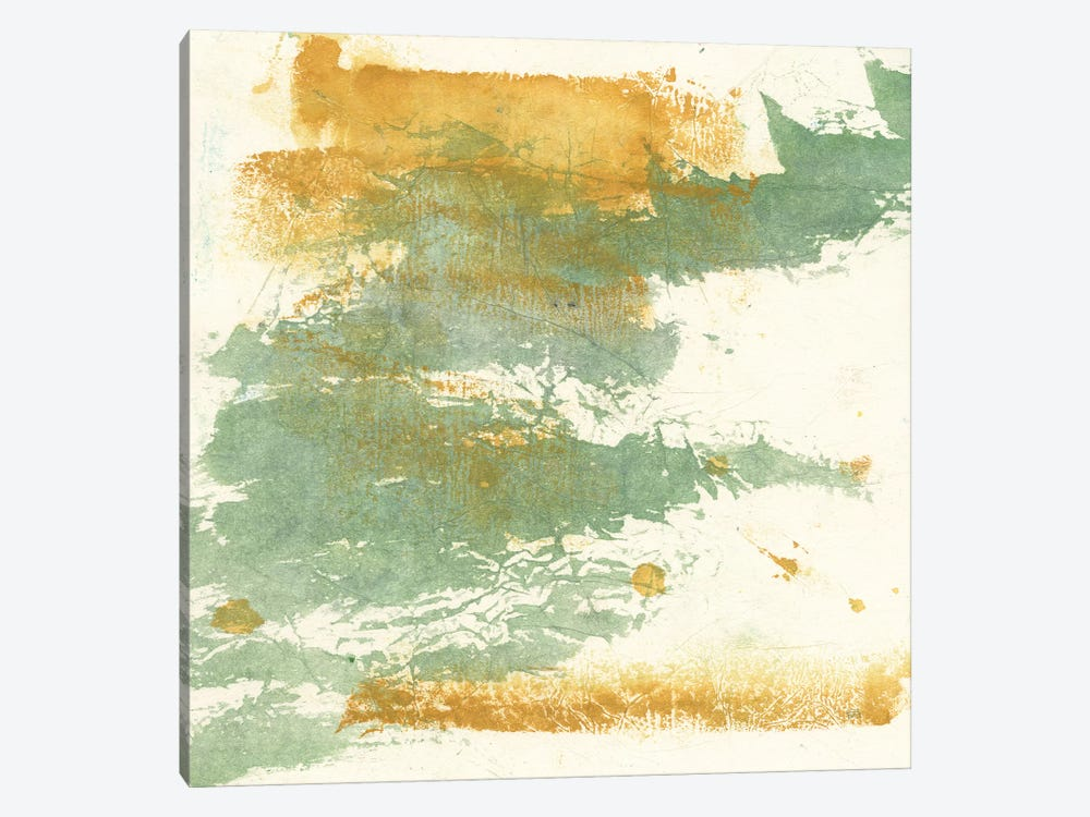 Textured Gold I by Chris Paschke 1-piece Canvas Art