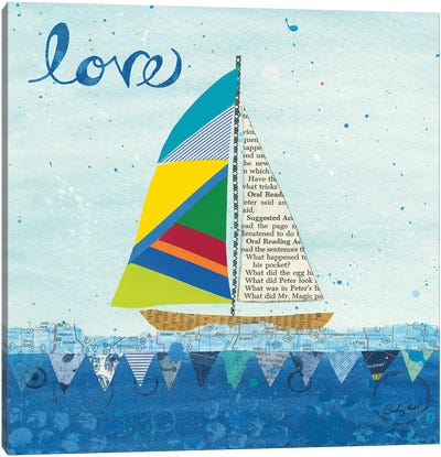 Rainbow Spinnakers I Canvas Art Print