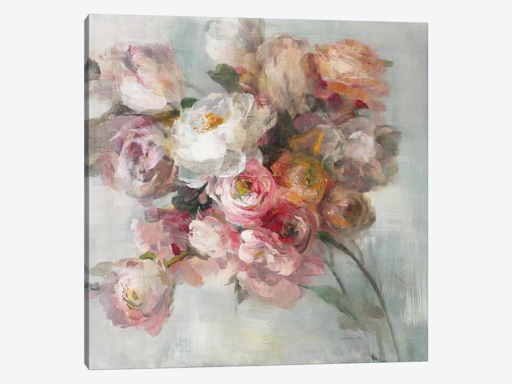 Blush Bouquet by Danhui Nai 1-piece Art Print