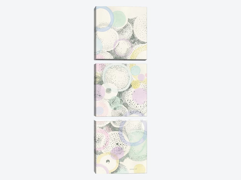 Breezes III by Danhui Nai 3-piece Canvas Artwork