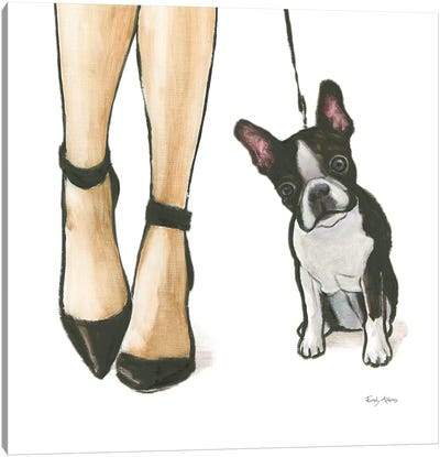Furry Fashion Friends II Canvas Art Print