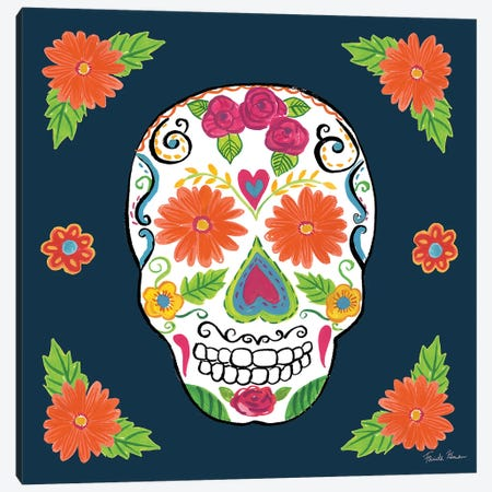 Day Of The Dead I Canvas Print #WAC9094} by Farida Zaman Canvas Artwork