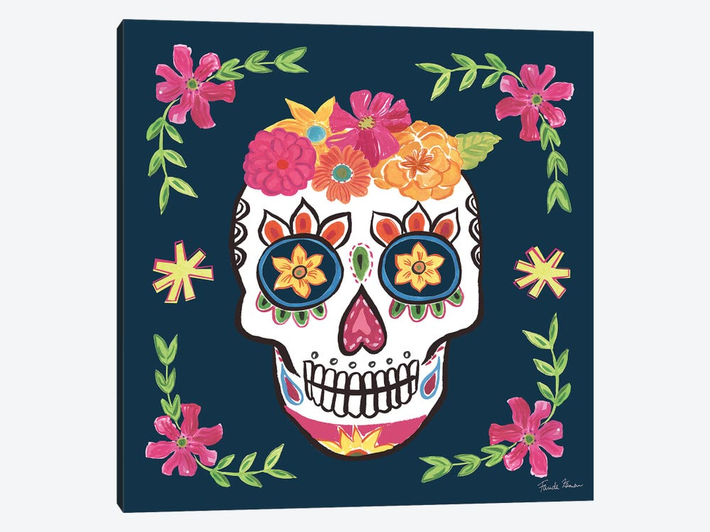 Day Of The Dead II by Farida Zaman 1-piece Canvas Art Print