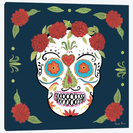 Day Of The Dead III Canvas Print #WAC9096} by Farida Zaman Canvas Wall Art