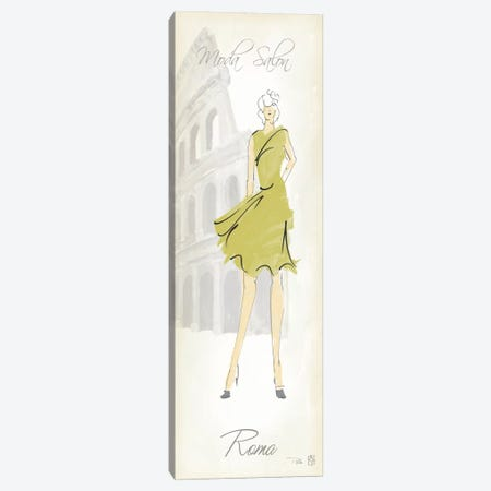 Fashion Lady IV Canvas Print #WAC90} by Avery Tillmon Canvas Artwork