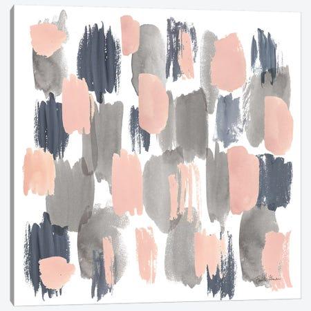 Grey Pink Mist I Canvas Print #WAC9103} by Farida Zaman Canvas Print
