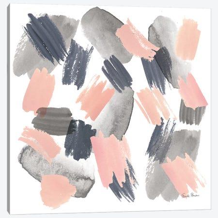 Grey Pink Mist II Canvas Print #WAC9104} by Farida Zaman Canvas Wall Art