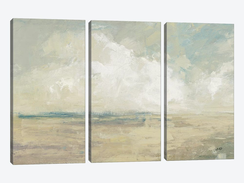 Sky And Sand by Julia Purinton 3-piece Canvas Art Print