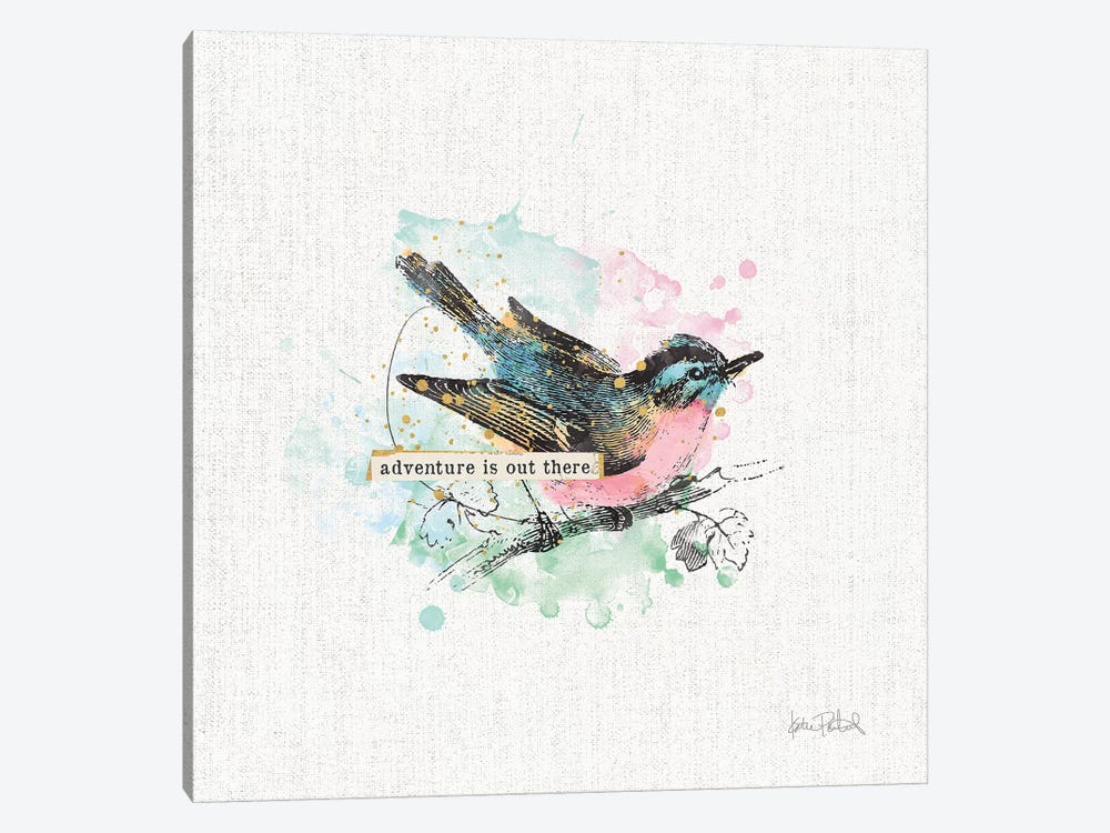 Thoughtful Wings III 1-piece Canvas Art