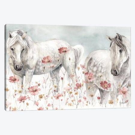 Wild Horses III Canvas Print #WAC9157} by Lisa Audit Canvas Print