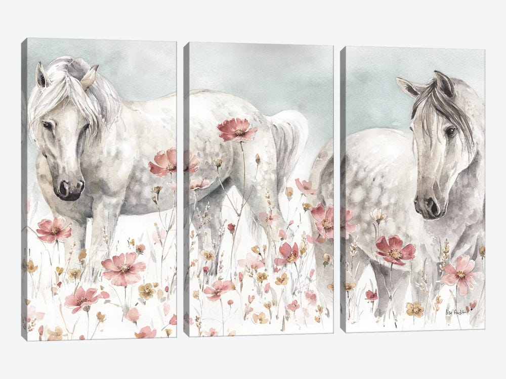 Wild Horses III by Lisa Audit 3-piece Canvas Art